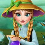 Anna Grows Flower