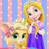 Baby Rapunzel Kitty Fun